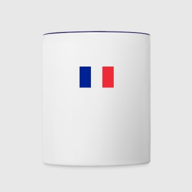 French superpower - Contrast Coffee Mug