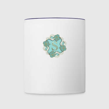 S Monogram - Contrast Coffee Mug