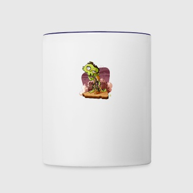 The Zombie - Contrast Coffee Mug