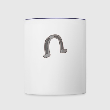 horseshoe - Contrast Coffee Mug