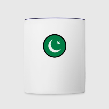 In Sign Of Pakistan - Contrast Coffee Mug