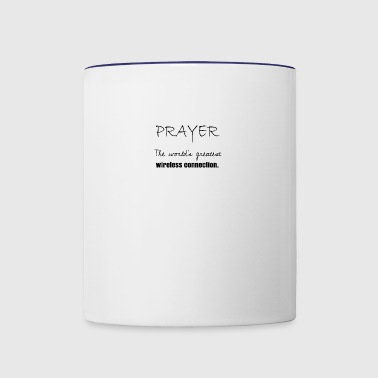 Prayer - Contrast Coffee Mug
