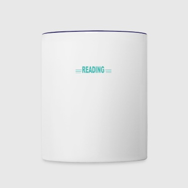 REading - Contrast Coffee Mug