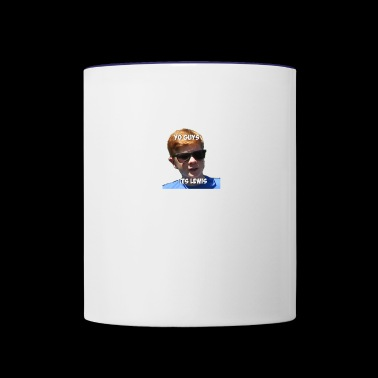 Homeless - cast merchandise - Lewis - Contrast Coffee Mug