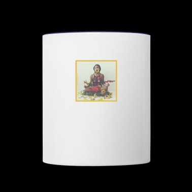 Meditation - Contrast Coffee Mug