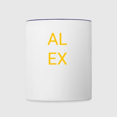ALEX - Contrast Coffee Mug