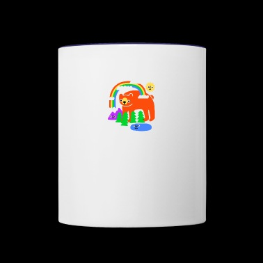 Funky Forest - Contrast Coffee Mug