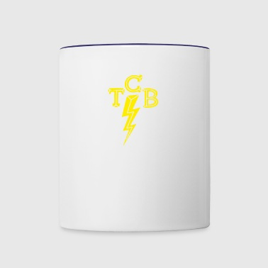 TCB Classic Rock Rockabilly - Contrast Coffee Mug