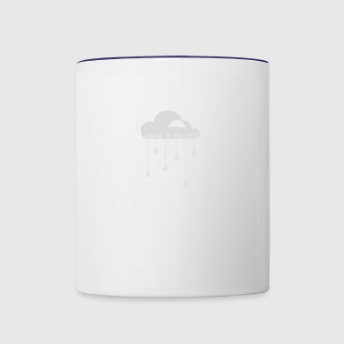 Dance In The Rain - Contrast Coffee Mug