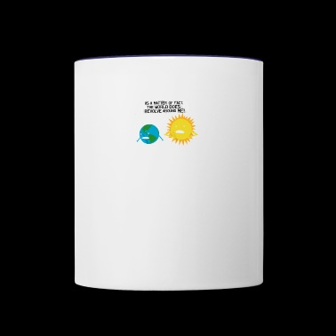 World Revolves - Contrast Coffee Mug