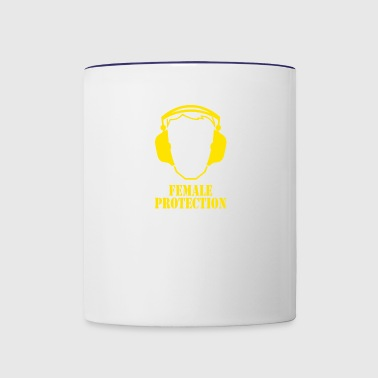 Female Protection - Contrast Coffee Mug