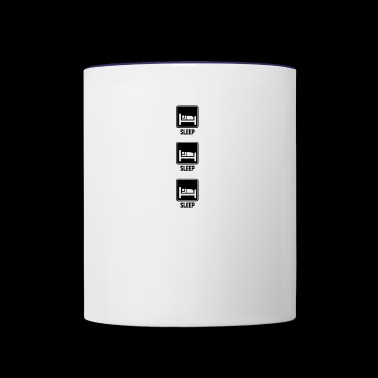 sleep sleep sleep - Contrast Coffee Mug