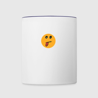 EmoteFace - Contrast Coffee Mug