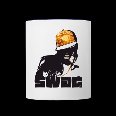 swag Glamour hiphop Street Gang Style swagg cool - Contrast Coffee Mug