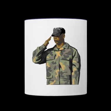 US Soldier America US Army - Contrast Coffee Mug