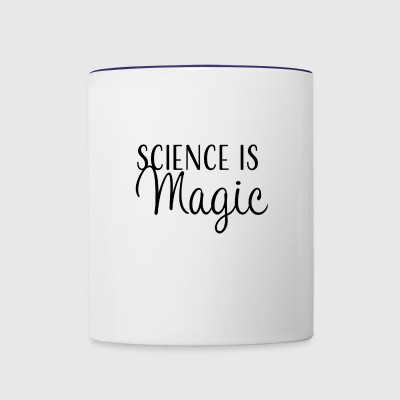 Science is Magic - Contrast Coffee Mug