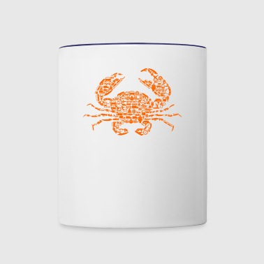 Crab - Contrast Coffee Mug