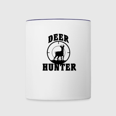 Deer Hunting Wild Outdoor Target | Deer Hunter - Contrast Coffee Mug