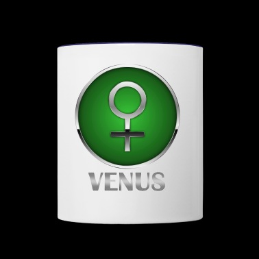 venus/woman - Contrast Coffee Mug