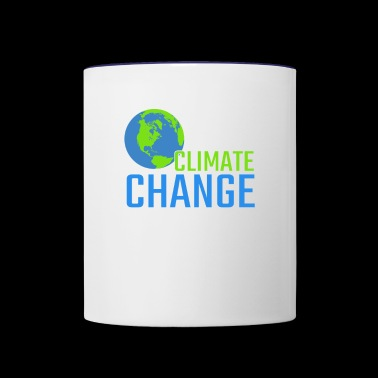 Climate Change Is Real Gift - Contrast Coffee Mug