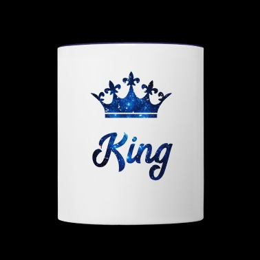 King - Contrast Coffee Mug