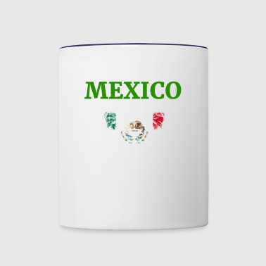 mexico soccer world championship russia 2018 - Contrast Coffee Mug