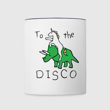 TO THE DISCO - Contrast Coffee Mug