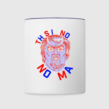 this is not normal - Contrast Coffee Mug