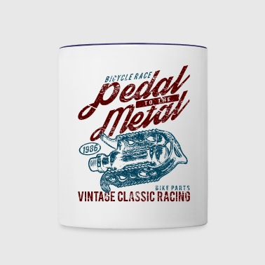 Pedal To The Metal - Contrast Coffee Mug