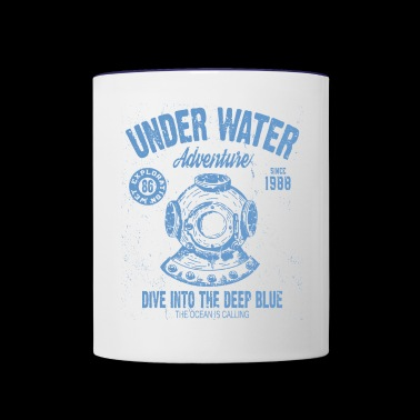 UNDER WATER ADVENTURE - Contrast Coffee Mug