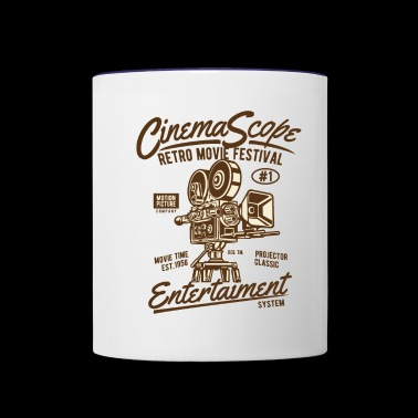 Cinema Scope2 - Contrast Coffee Mug