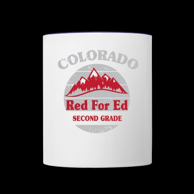 Second Grade colorado - Contrast Coffee Mug