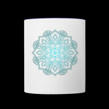 Spiritual Circle Buddhism Hinduism - Contrast Coffee Mug