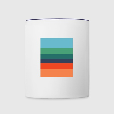color palate 01 - Contrast Coffee Mug