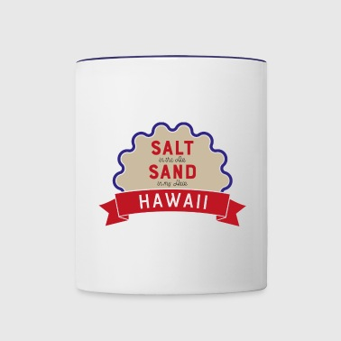 hawaii - Contrast Coffee Mug
