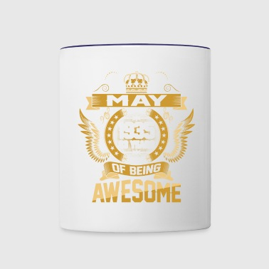 May 1935 83 Years Of Being Awesome - Contrast Coffee Mug