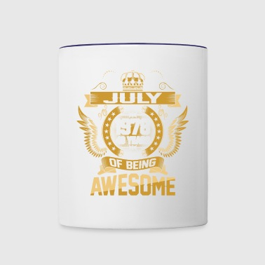 July 1978 40 Years Of Being Awesome - Contrast Coffee Mug