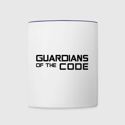 Guardians of the code - Contrast Coffee Mug