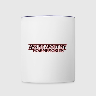 Stranger Things Now Memories - Contrast Coffee Mug