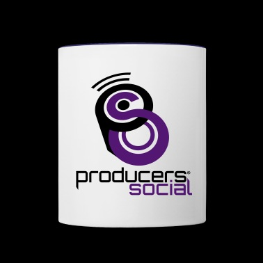 ProducersSocial Large - Contrast Coffee Mug