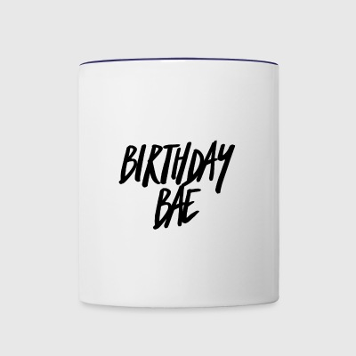 Birthday Bae - Contrast Coffee Mug