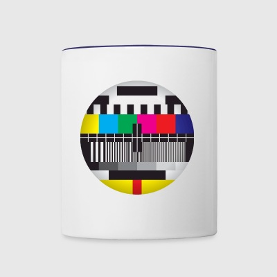 Television Test Card - Contrast Coffee Mug