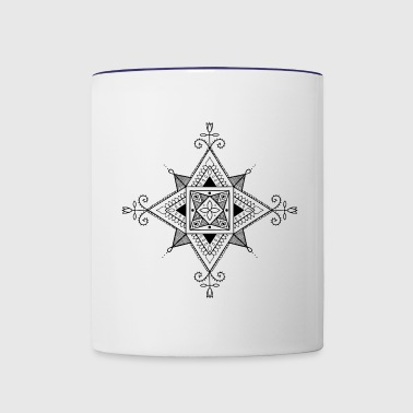 The square - Contrast Coffee Mug