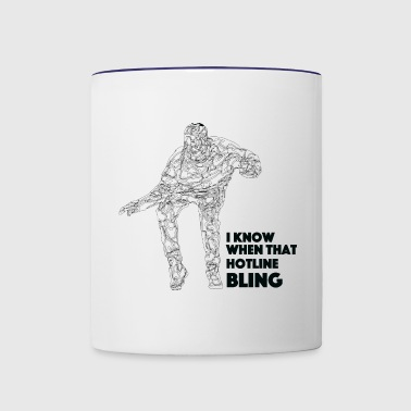 Drake Hotline Bling - Contrast Coffee Mug