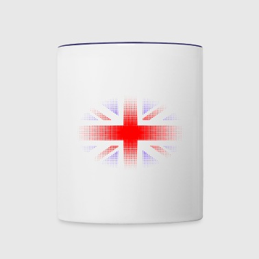 British Flag Tshirt - Contrast Coffee Mug