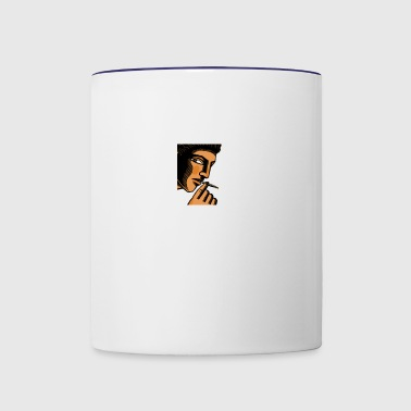 smoker - Contrast Coffee Mug