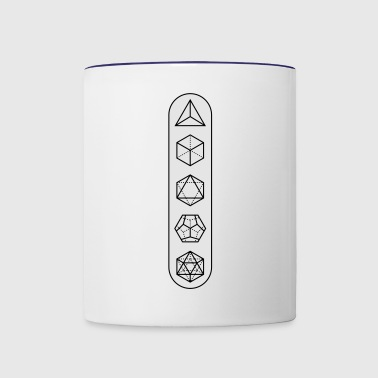 platonic-white-bg - Contrast Coffee Mug