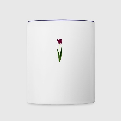 Purple Tulip - Contrast Coffee Mug