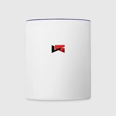 YouTube Logo - Contrast Coffee Mug
