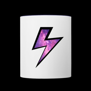 lightning - Contrast Coffee Mug